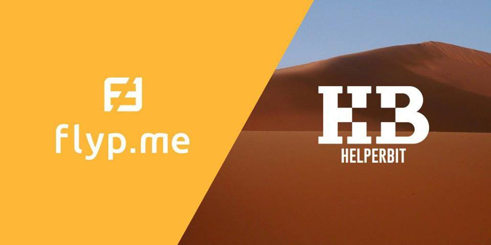 Flip.me & Helperbit